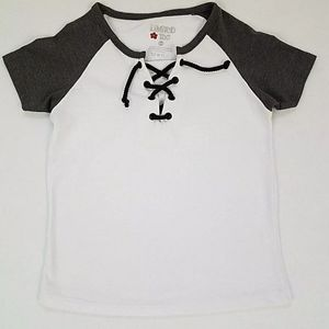 New LIMITED TOO Girl's short Sleeve T Shirt 5/6